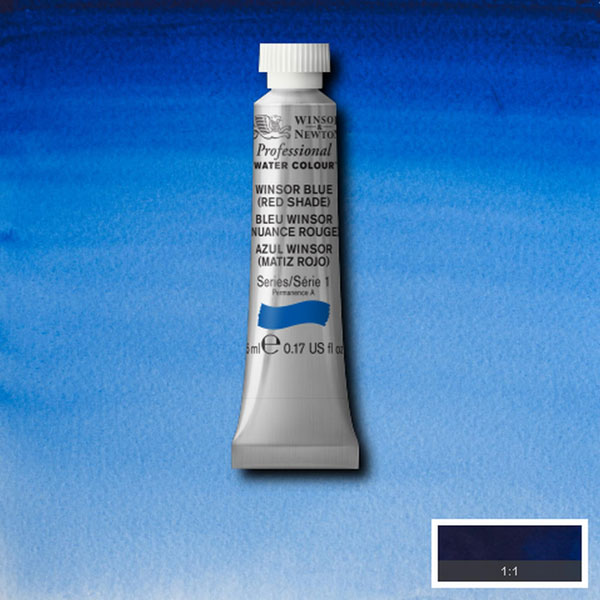 Professional Water Colour Winsor Blue (red Shade)