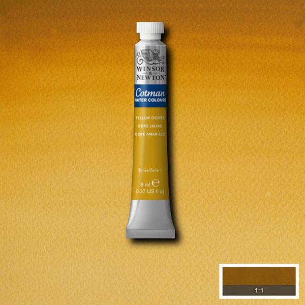 Cotman W/col 8ml Yellow Ochre