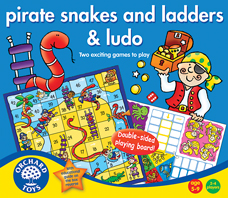 Pirate Snakes& Ladders & Ludo