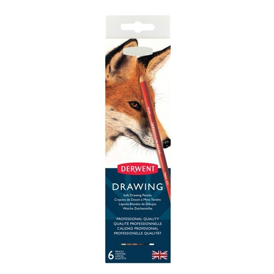 Derwent Drawing Tin 6