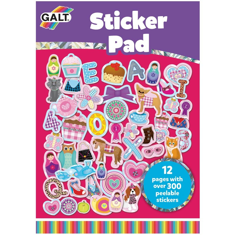 Galt  - Girl Club Sticker Pad