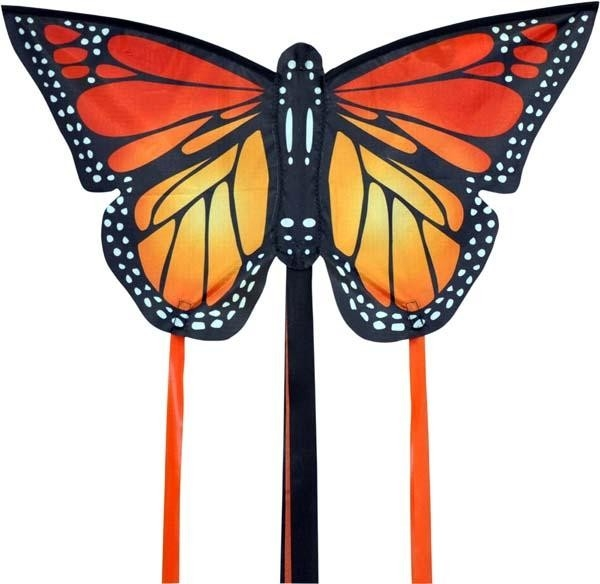 Monarch Butterfly Kite Red Sml