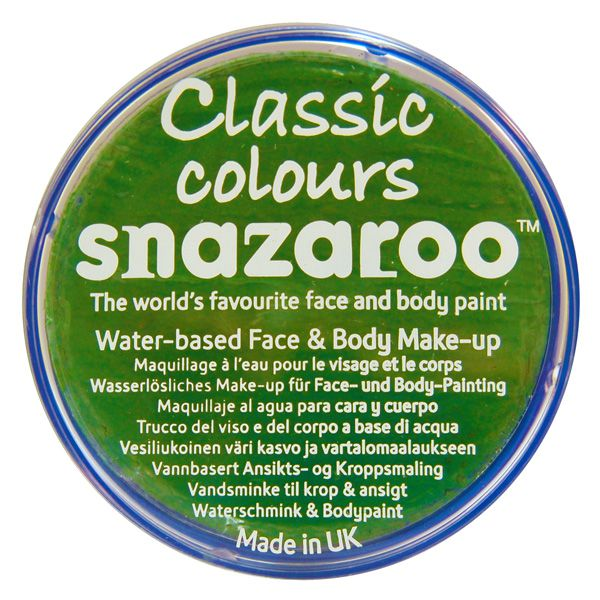 Snazaroo Face Paint 18ml-br.green