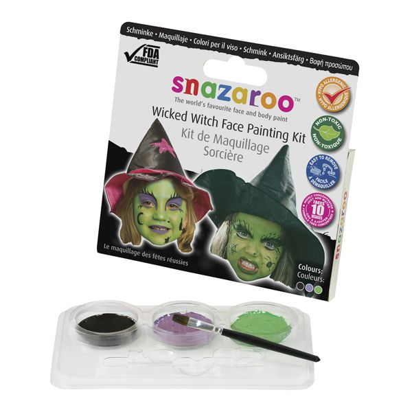 Snazaroo Wicked Witch Face Paint