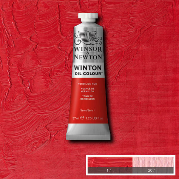 Winton 37ml Vermilion Hue Oil Paint
