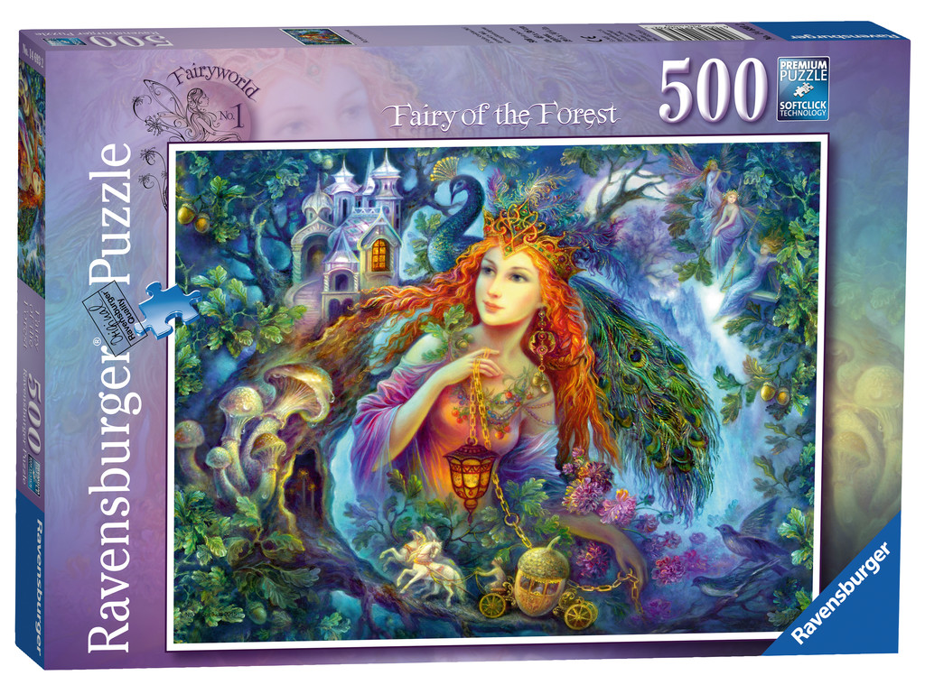500pc Fairy World No.1-fairy Of The Forest