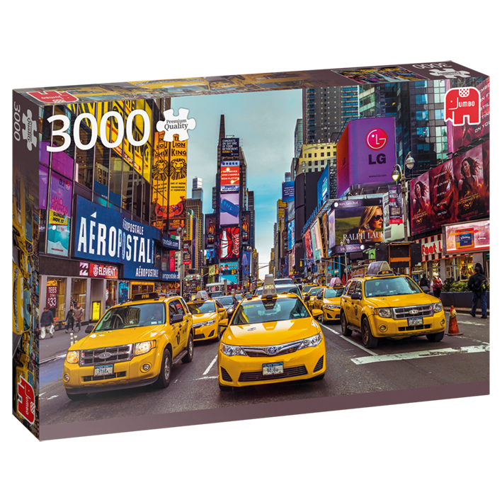 3000pc New York Taxis