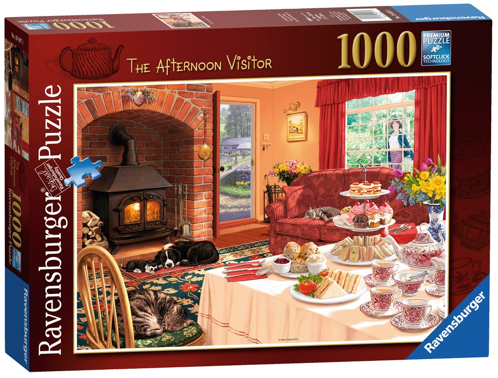 1000pc Puzzle - The Afternoon Visitor