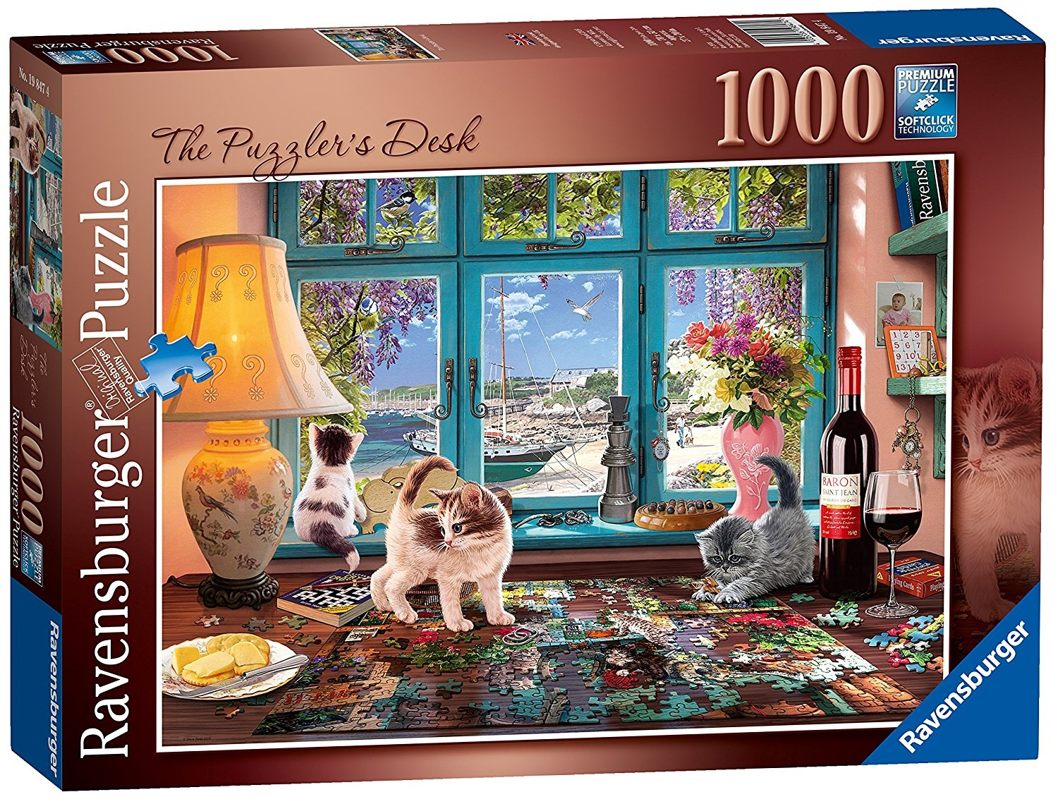 The Puzzlers Desk 1000pc