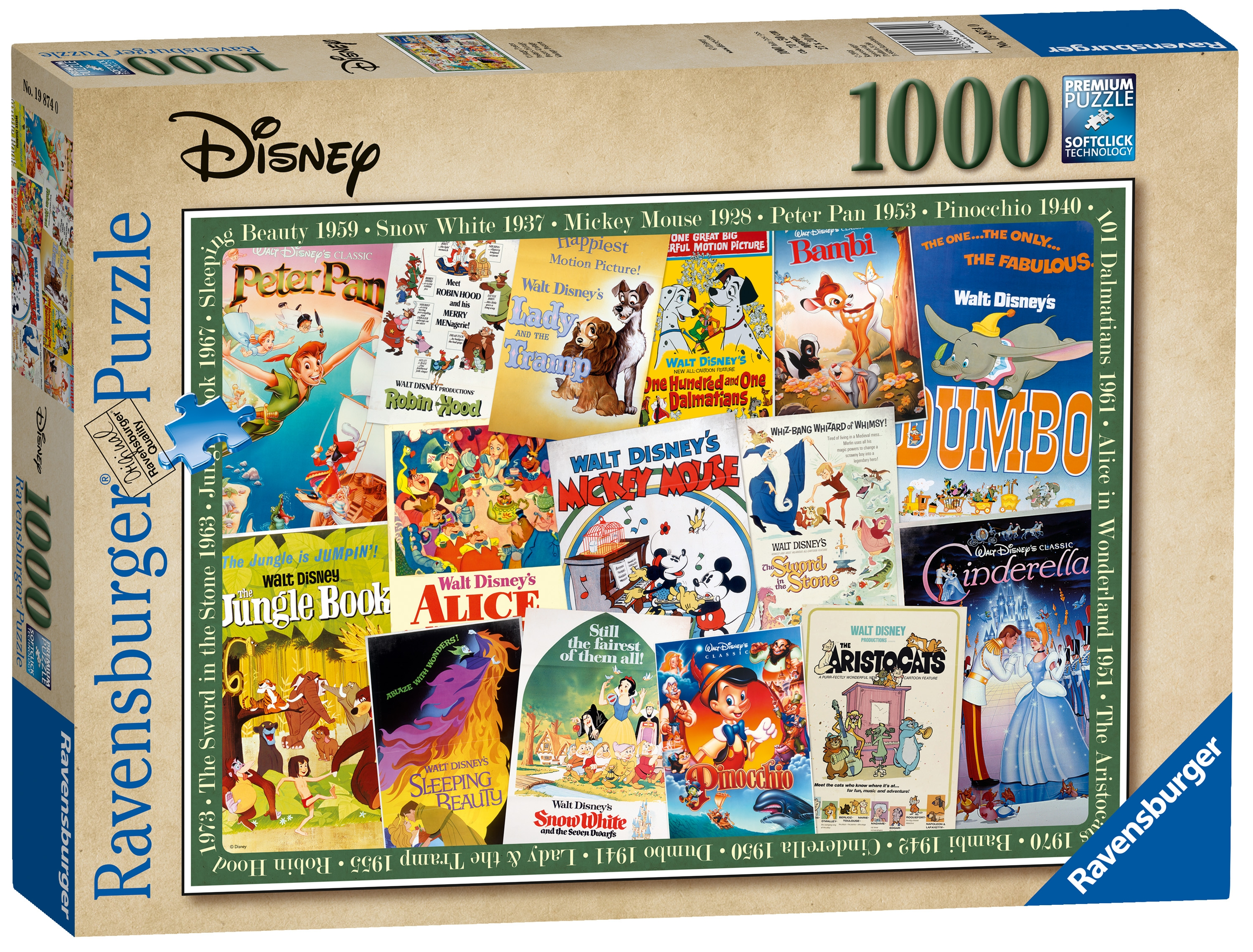 Character Puzzle -movie Poster 1000pc