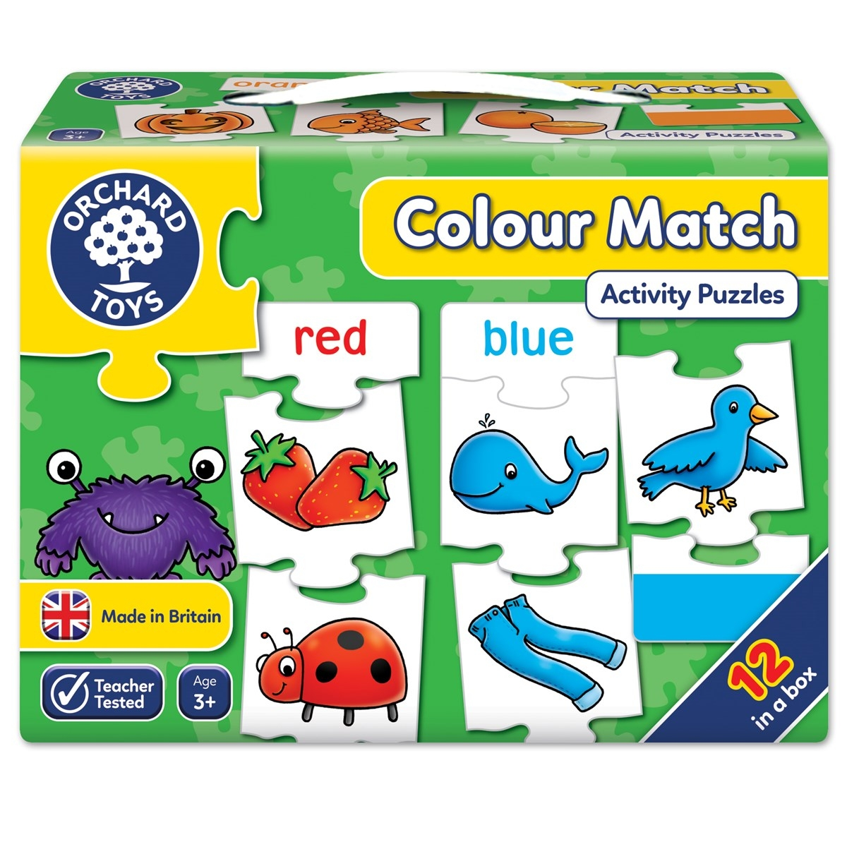 Orchard Colour Match Jigsaw Puzzle