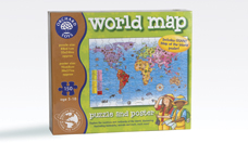 World Map & Poster Puzzle