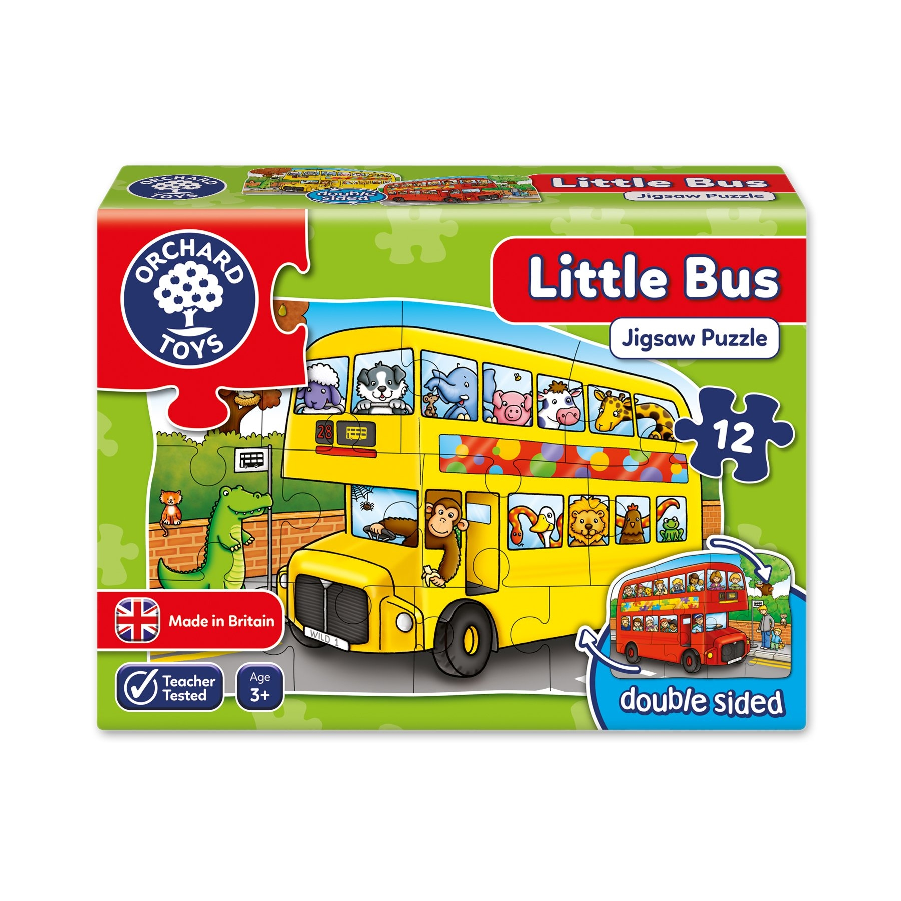 Orchard Toys  - Little Bus Jigsaw Puzzle