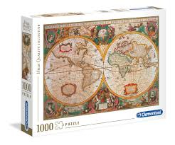 1000pc Puzzle  - Old Map