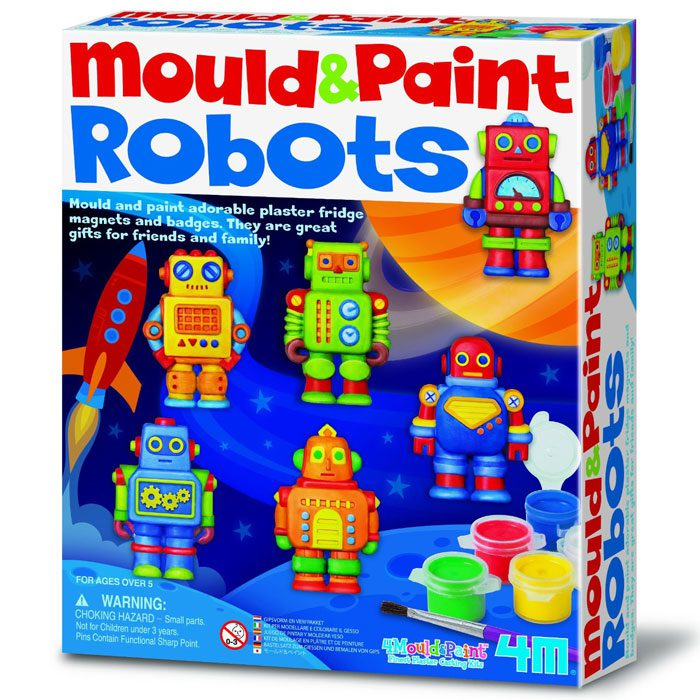 Mould & Paint  - Robots