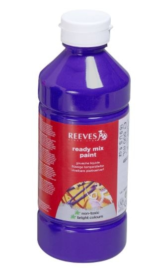Reeves Purple 500ml Poster Paint