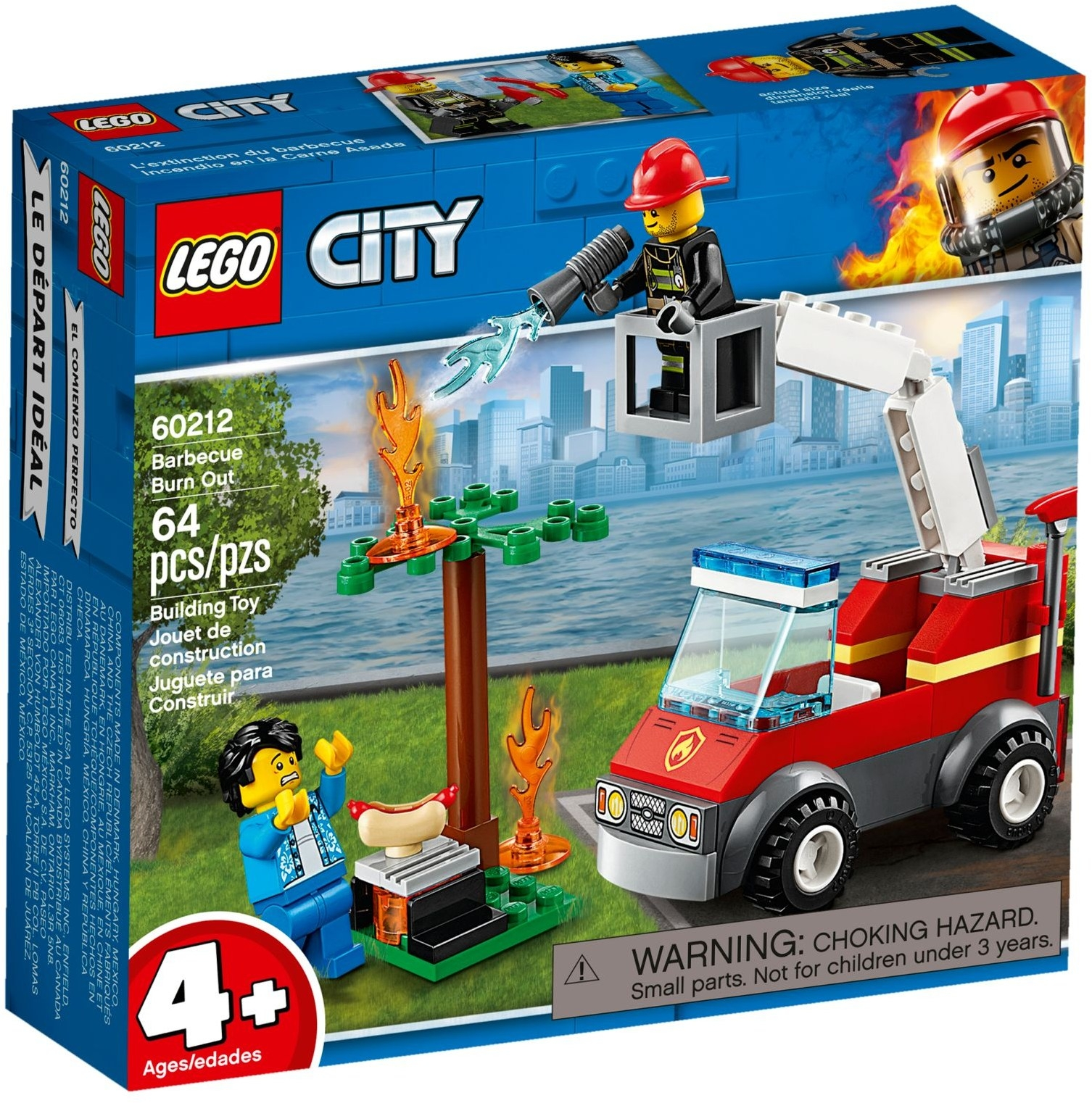 Lego Barbecue Burn Out