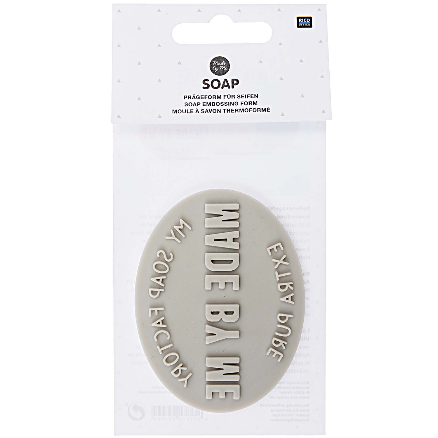 Soap Embossing Form Oval