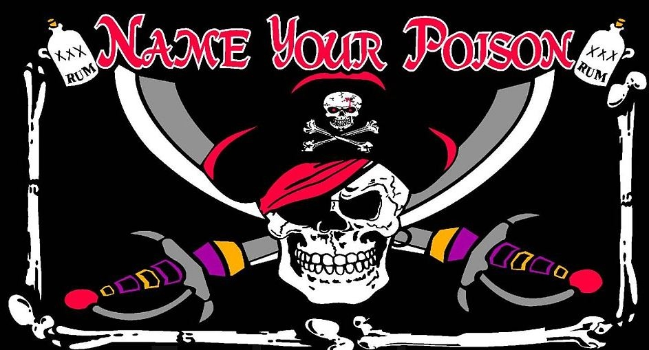Flag - Pirate Name Your Poison