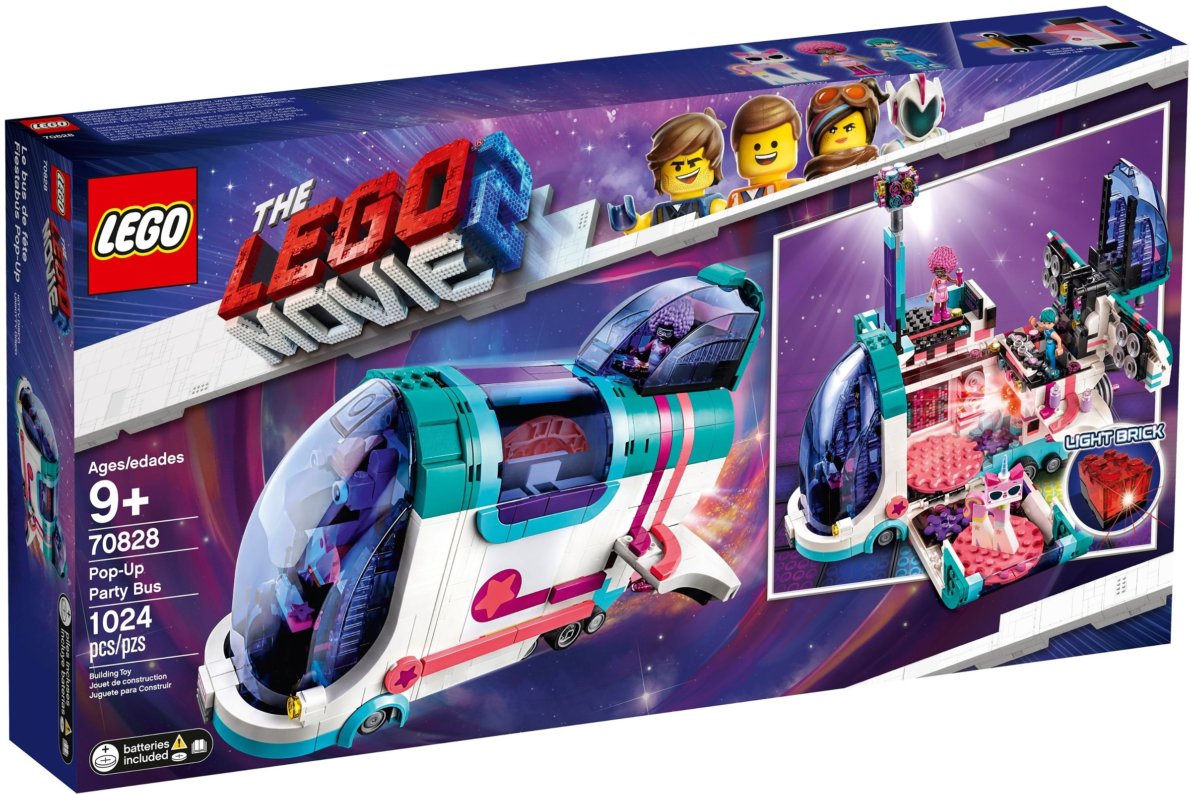 Lego Movie Pop -up Party Bus Lm2 Offer