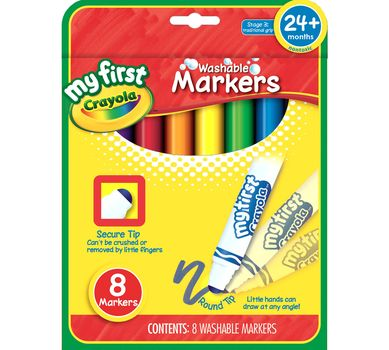 My First Crayola 8 First Markers