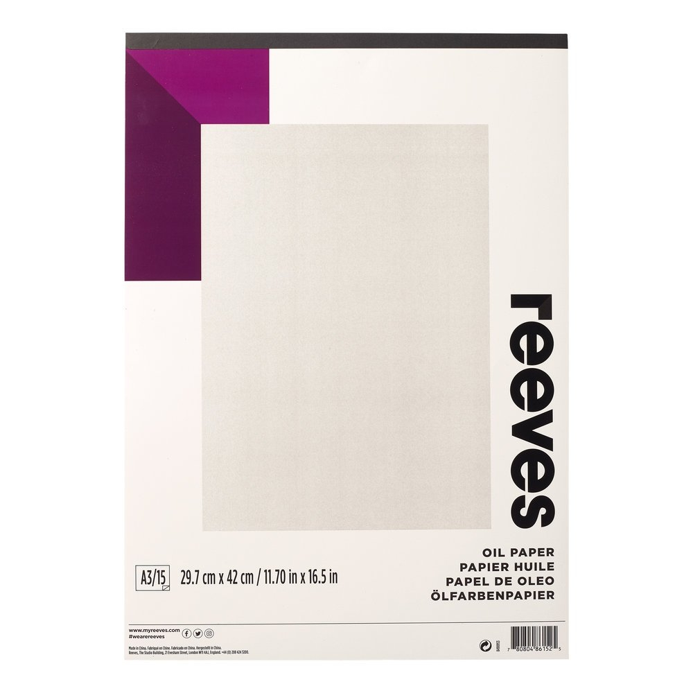 Reeves Oil Pad A3 190gsm 15 Shts