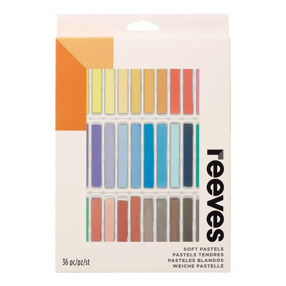 Reeves 36 Soft Pastels