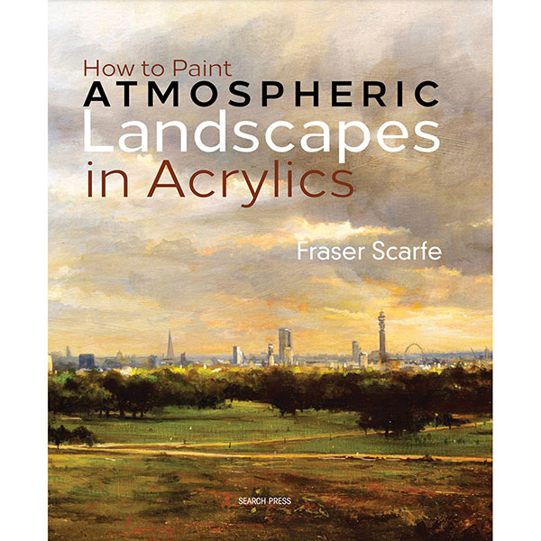 Sp  - How To Paint Atmospheric Landscapes In Acryli
