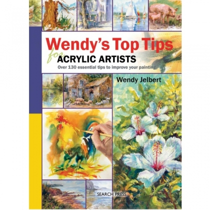 Sp  - Wendys Top Tips For Acrylic Artists