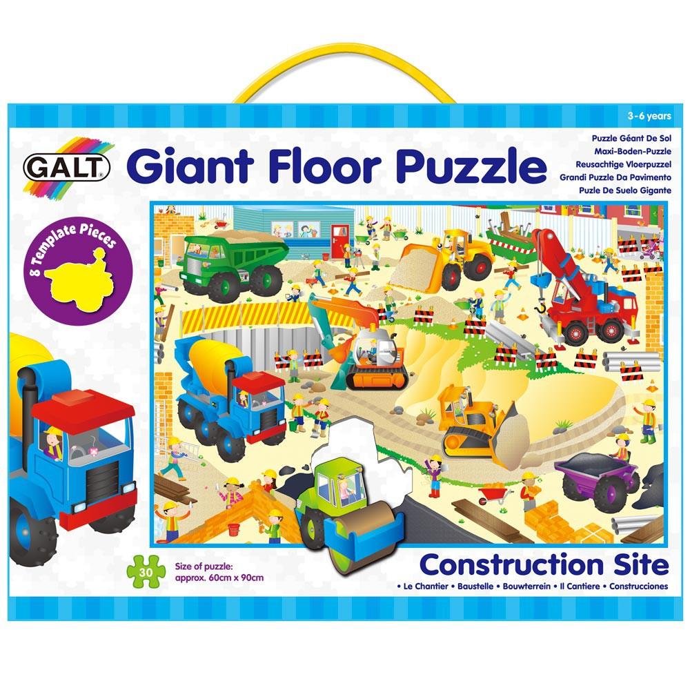 Galt Giant Floor Puzzle -construction
