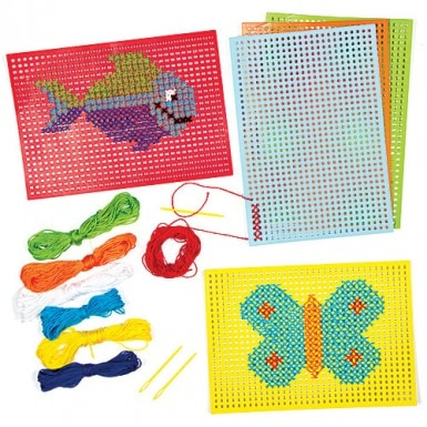 Cross Stitch Cards (pack Of 6)