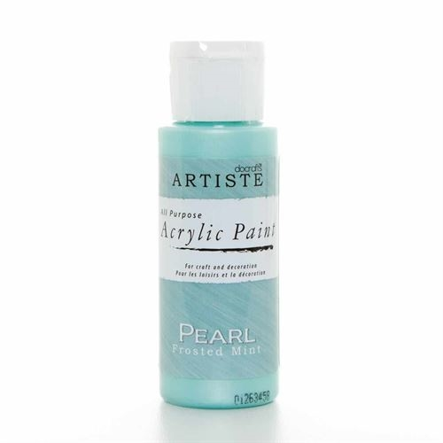 Acrylic Paint 2oz Pearl-frosted Mint