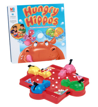 Mb Game - Hungry Hungry Hippos