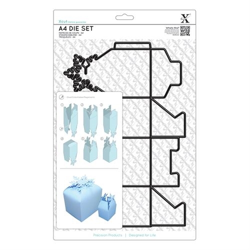Xcut A4 Dies 1pc -snowflake Box