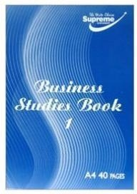Business Study Book 1