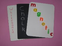 A4 Whte Magnetic Board