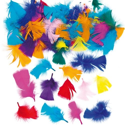 Collage Feathers 20g Bag