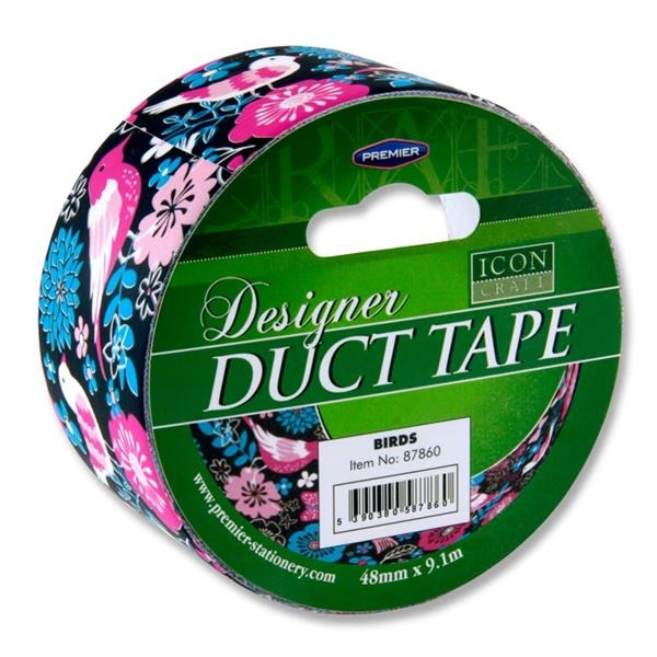 Icon Duct Tape  -birds 48mm X 9m