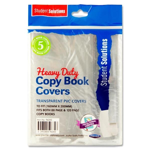 Pvc Heavy Duty Copy Book Covers 5