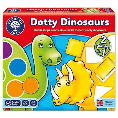 Orchard Toys - Dotty Dinosaurs Game