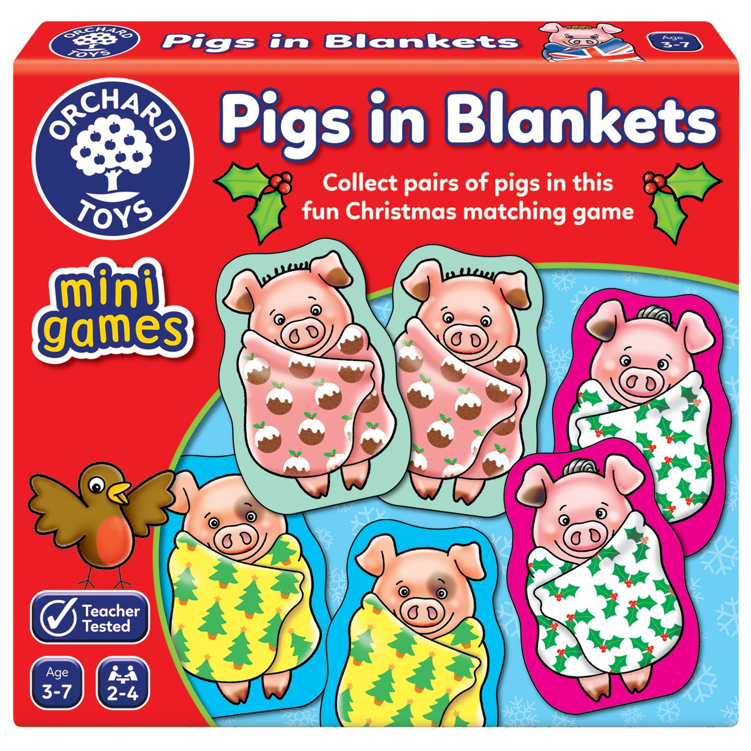 Orchard Toys - Pigs In Blankets Mini Game