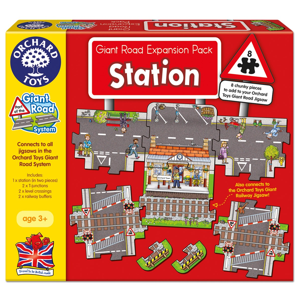 Orchard Toys Station Giant Road Expansion Pack