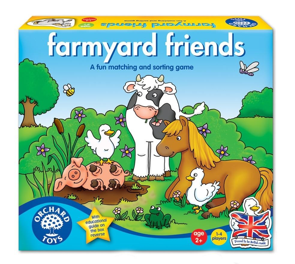 Orchard Toys: Farmyard Friends Game