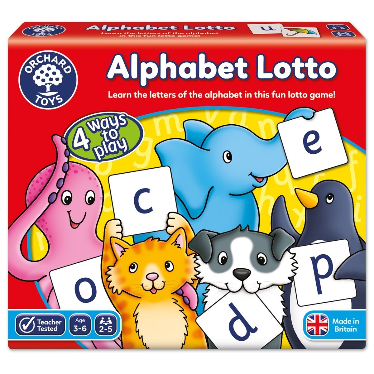 Orchard  Alphabet Lotto Game