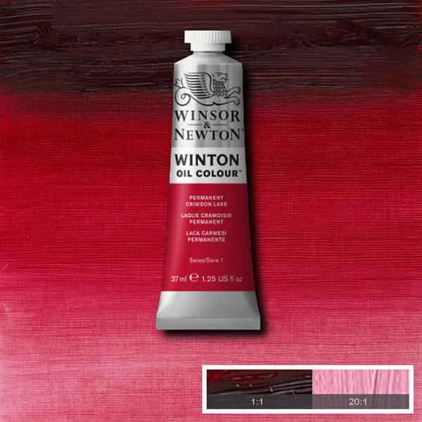 Winton 37ml Perm Crimson Lake Oil Paint