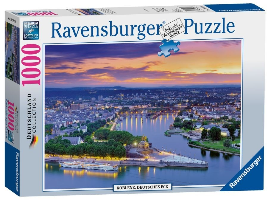 The Rhine & The Moselle Koblenz 1000pc