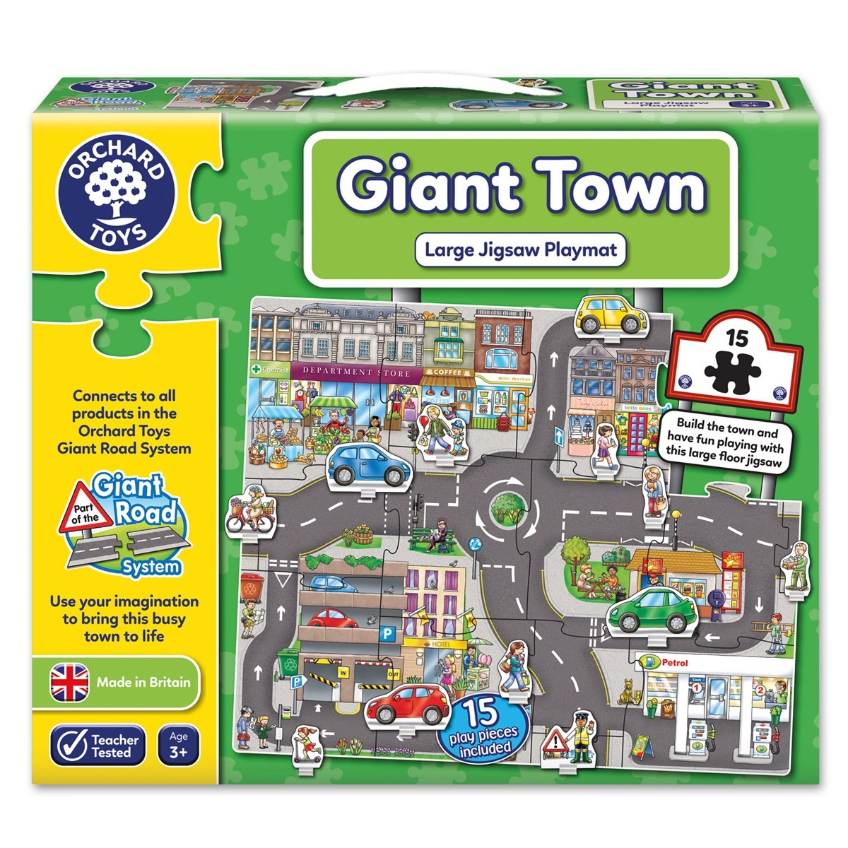 Orchard Giant Town Puzzle