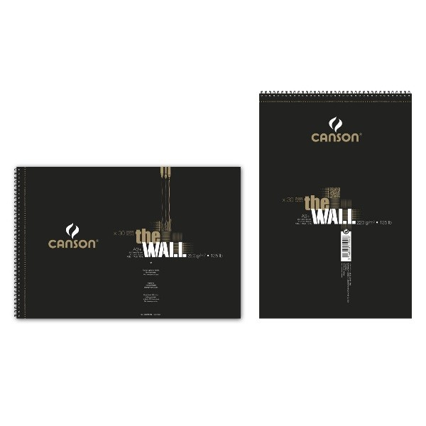 Canson - The Wall - Bleedproof Pad - 220gsm +a3