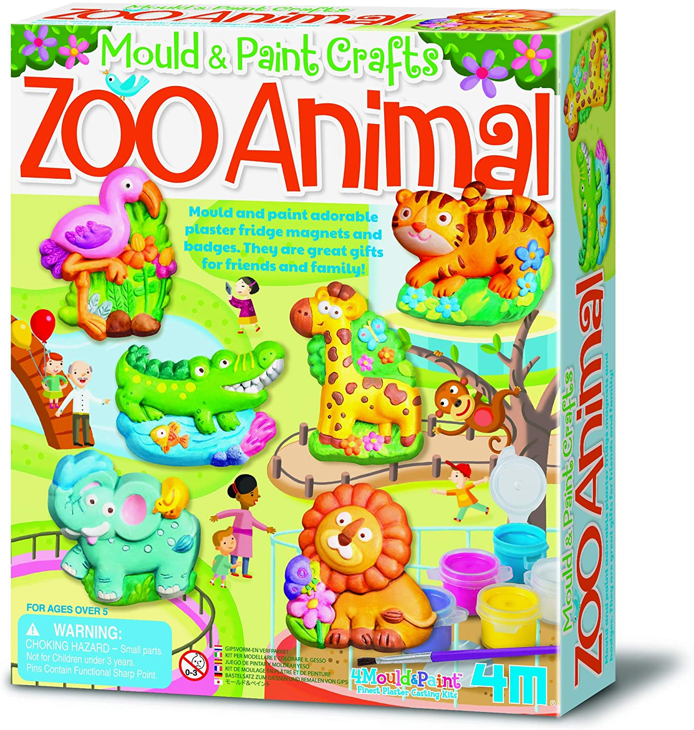 Mould & Paint  - Zoo Animal