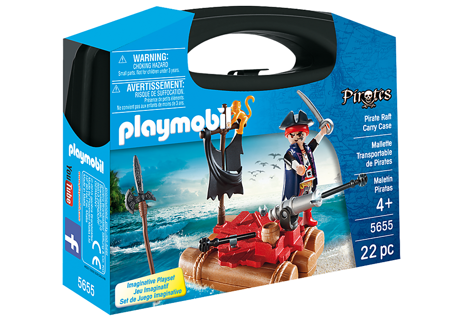Playmobil Carrying Case Sml -pirates
